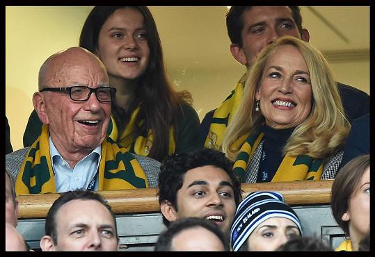 Australský tým nakonec nezvítězil, ale dvojice si evidentně zápas užila.
