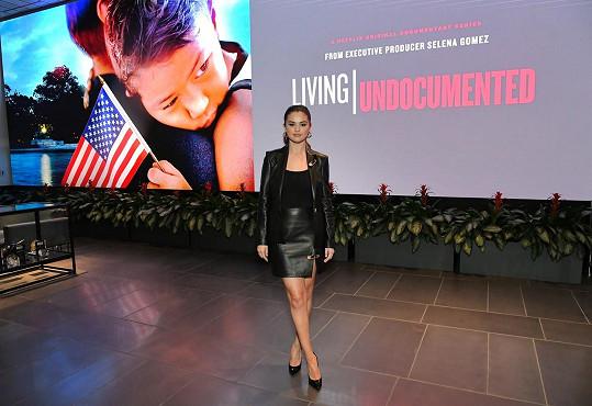 Na premiéře dokumentu Living Undocumented