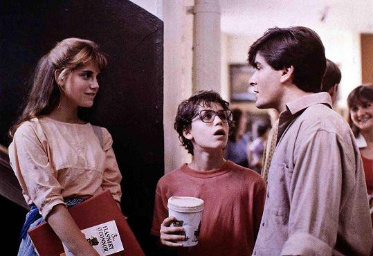 Charlie Sheen a Corey Haim ve filmu Lucas