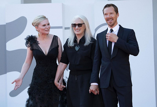 S režisérkou Jane Campion a Benedictem Cumberbatchem