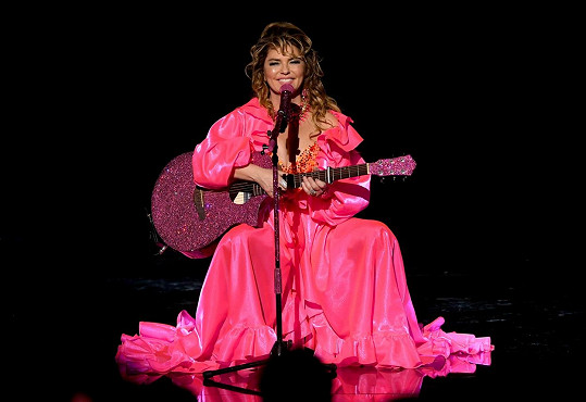 Shania Twain na American Music Awards vystoupila se svými největšími hity.