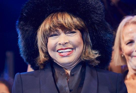 Tina zavítala na premiéru muzikálu o vlastním životě.