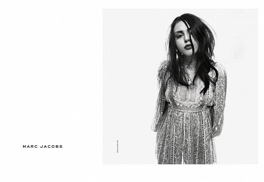 Frances Bean Cobain jako tvář kolekce jaro/ léto 2017 Marca Jacobse