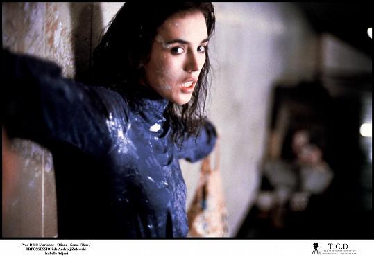 Isabelle Adjani psychicky poznamenala role ve filmu Posedlost...