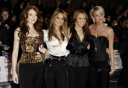 S kolegyněmi z kapely Girls Aloud