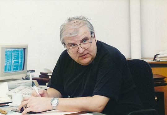 Otakar Černý byl legendou sportovní žurnalistiky.