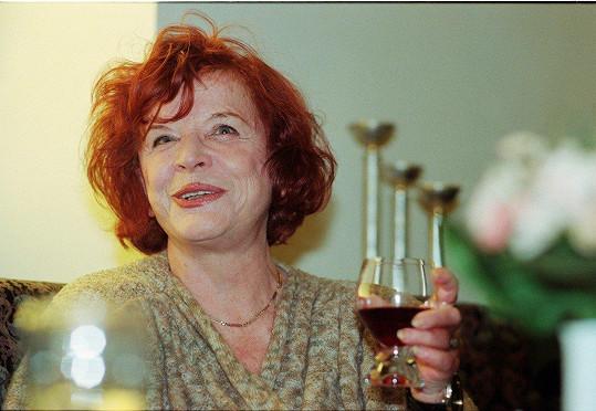 Jaroslava Adamová byla vynikající herečkou.