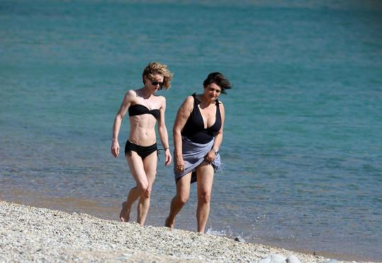 Vanessa Paradis v Řecku