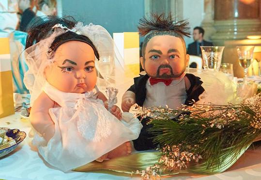 I tohle bylo k vidění na svatbě operních hvězd.