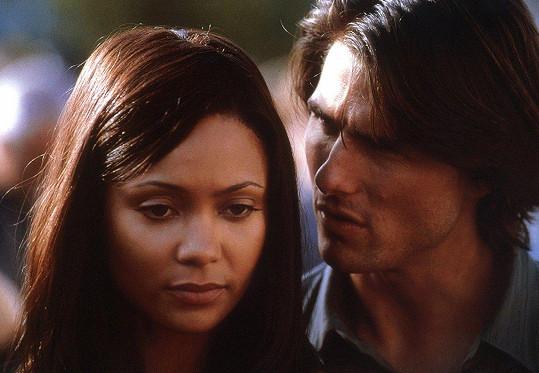 Thandie Newton byla z líbačky s Tomem Cruisem ve snímku Mission Impossible II zhnusená.