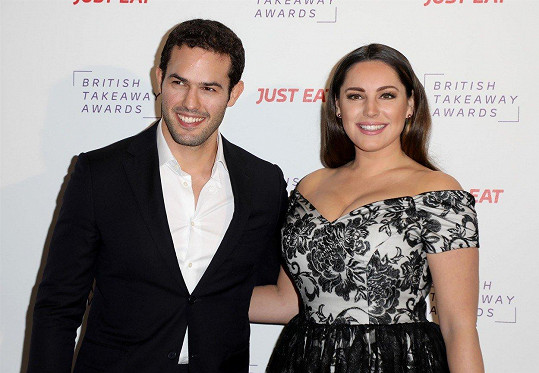 Kelly Brook s přítelem Jeremym Parisim