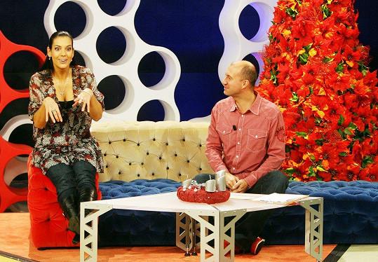 Marta s Petrem Svobodou ve Snídani s Novou