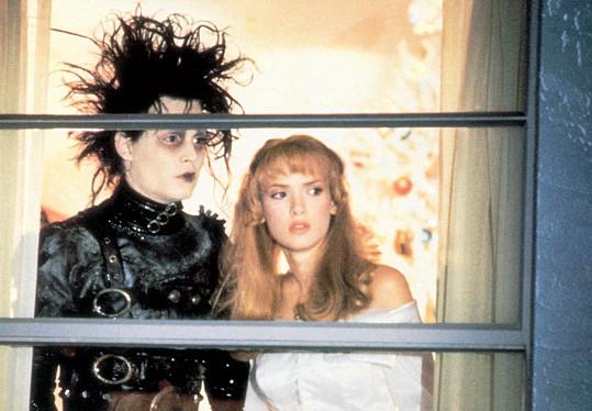 Winona Ryder byla partnerkou Johnnyho Deppa čtyři roky. Hráli spolu ve filmu Střihoruký Edward.