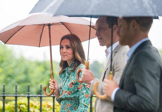 Kate svou tchyni bohužel nikdy nepoznala.