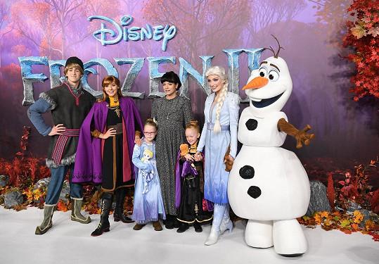 S postavami z Ledového království 2
