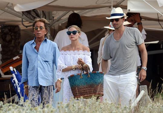 Olivia Palermo s manželem a návrhářem Valentinem, s nímž ji pojí blízké přátelství.