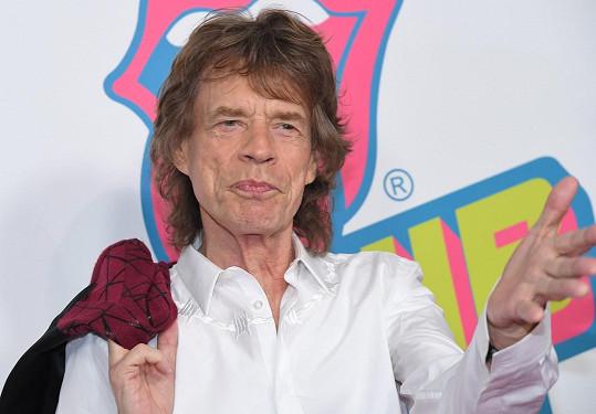 Mick je už osminásobným otcem.