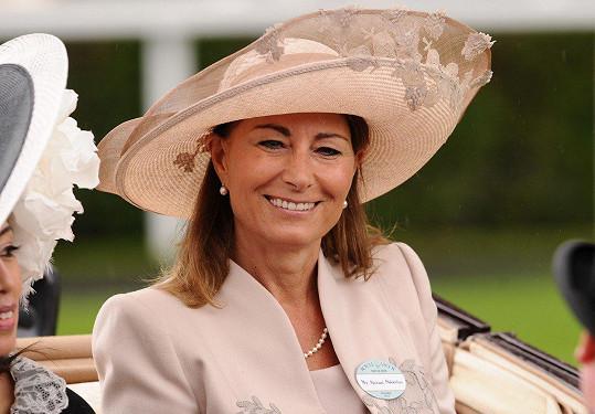 Carole Middleton promluvila do médií po 15 letech mlčení.
