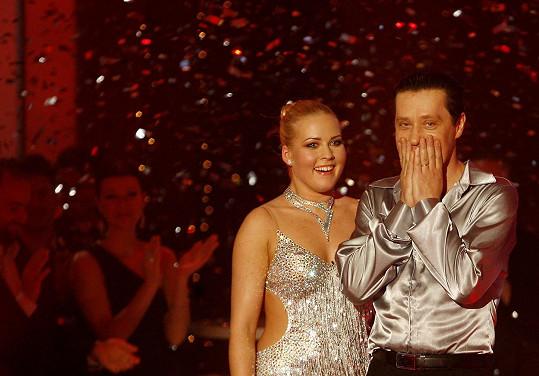 Alice Stodůlková vyhrála StarDance společně s Pavlem Křížem.
