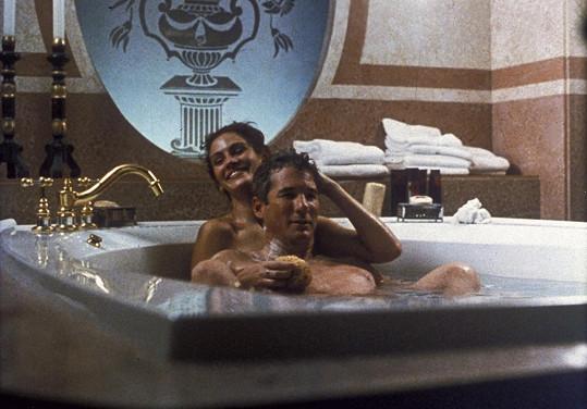 Julia Roberts byla z milostných scén nervózní.