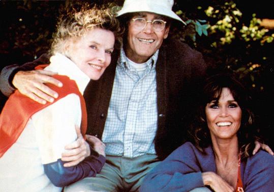Ve filmu Na Zlatém jezeře (1981) si zahrála se svým otcem Henrym Fondou.