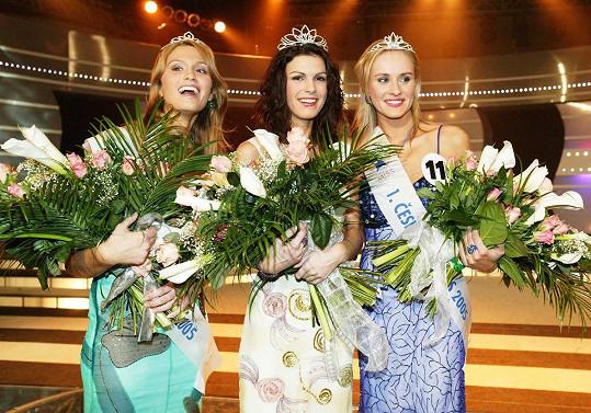 Kateřina Smejkalová se stala první Českou Miss. Druhé a třetí místo obsadily Zuzana Štěpanovská a Michaela Štoudková.