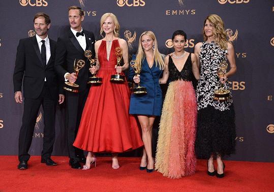 Herci ze série Sedmilhářky s pěti cenami Emmy