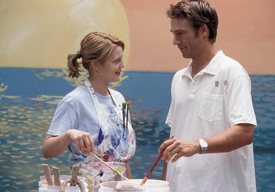 Jeho filmovou láskou byla Drew Barrymore.