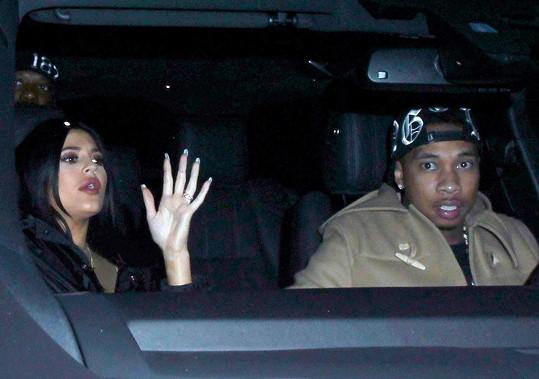 Kylie Jenner a Tyga spolu údajně čekají dítě.