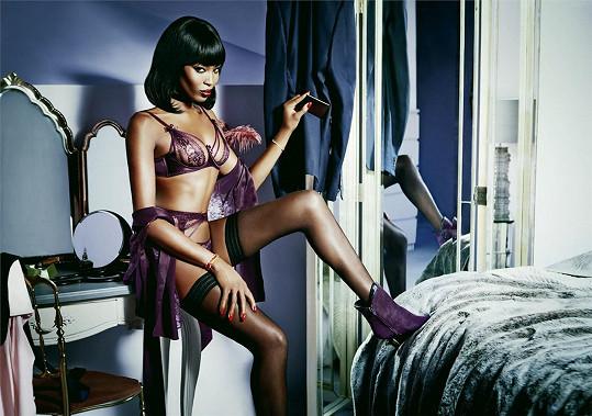 Naomi Campbell a její žhavé foto