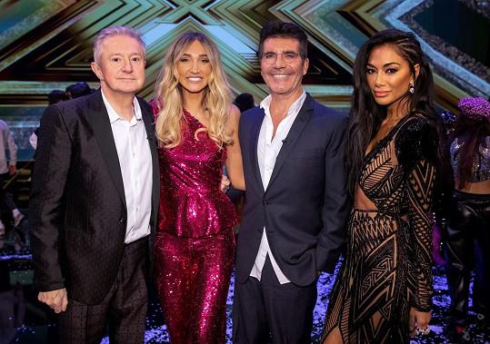 Megan se zúčastnila britského X Factoru pro celebrity.