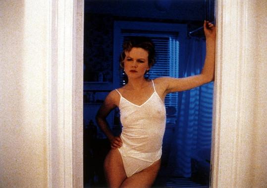 Herečka byla v roce 1999 ve snímku Eyes Wide Shut mnohem méně obdařená.