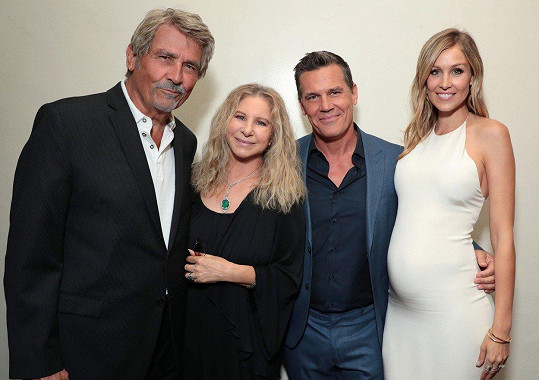 James Brolin, Barbra Streisand, Josh Brolin a Kathryn Boyd