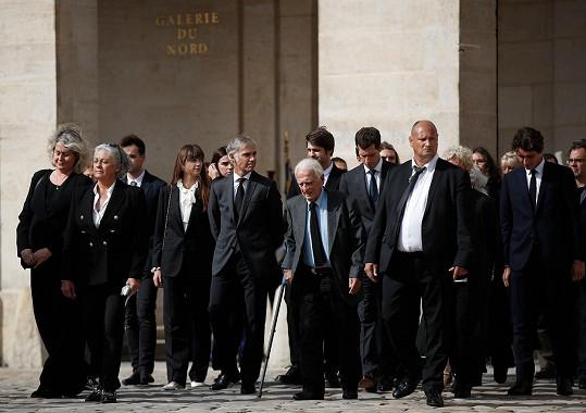 O holi se opíral Jean-Paulův bratr Alain (90).