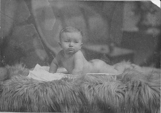 Jan Werich jako malý chlapec