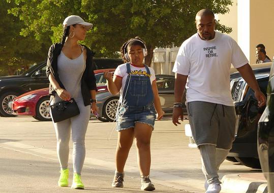Timbaland byl v Miami zvěčněn s dcerkou a novou známostí