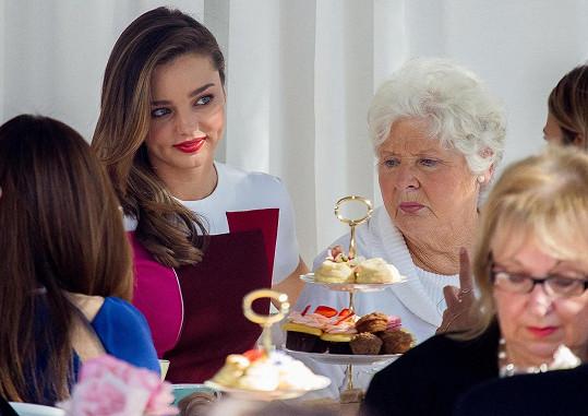 S milovanou babičkou Ann
