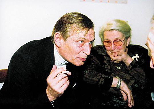 Jiří Kodet a Stella Zázvorková