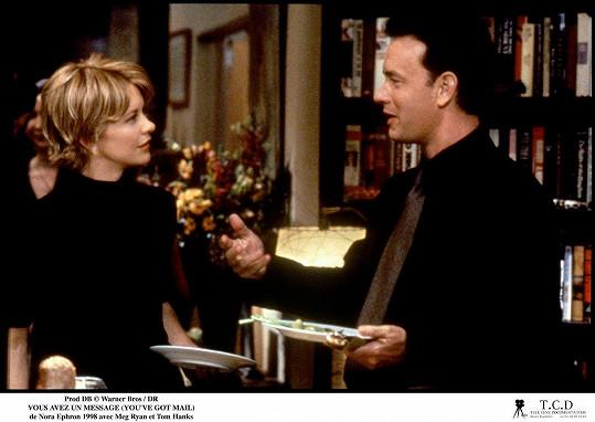 Meg Ryan fanoušci znají mimo jiné z filmu Láska přes internet, v němž si zahrála s Tomem Hanksem.