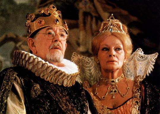 Jana Brejchová a Vlastimil Brodský ve snímku Arabela se vrací. Brodský byl třetím manželem Jany Brejchové.