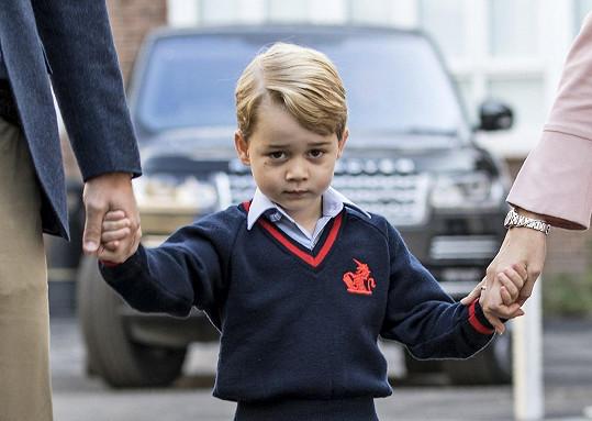 Georgův první školní den