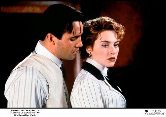 Billy Zane s Kate Winslet ve slavném Cameronově Titaniku