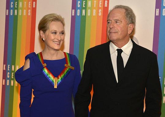 Meryl Streep je od roku 1978 manželkou Dona Gummera.