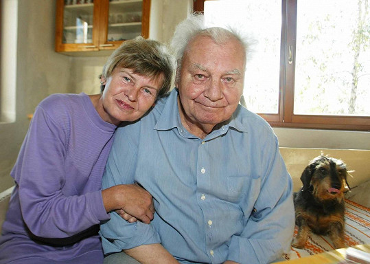 Petr Haničinec s milovanou manželkou Radmilou