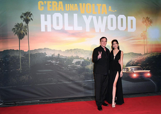 Quentin Tarantino a Daniella Pick čekají dítě.