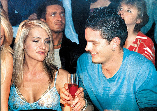 Dara Rolins se svou bývalou láskou Petrem Vlasákem