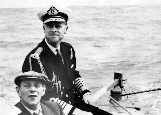 Princ Philip v roce 1957