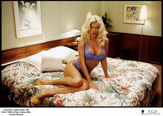 Není žádným překvapením, že ji do filmu The Boat tvůrci obsadili do role sexbomby.