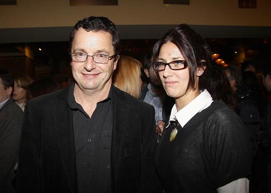 Michal Viewegh s manželkou