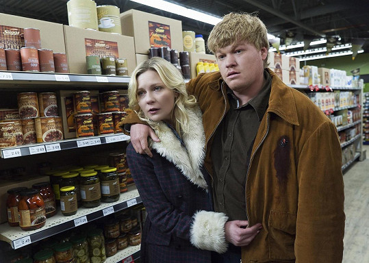 Se snoubencem Jessem Plemonsem v seriálu, který je svedl dohromady.